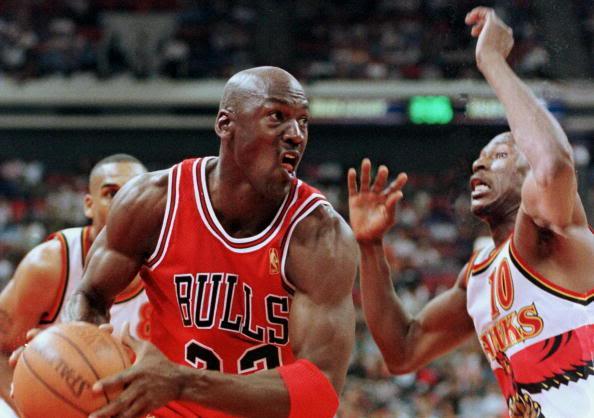 The Baltimore Sun: Is This Michael Jordan's Last Season? (1998)   JERRY BEMBRY